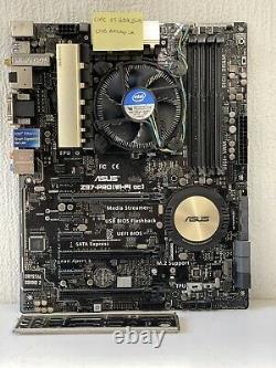 Morherboard Asus Z97-pro Wifi Ac + Intel Core I5 4690k 3.5 Ghz Cpu + Tray