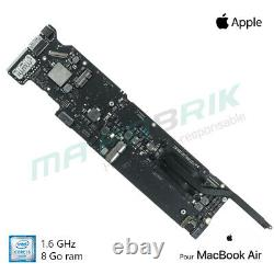 Motherboard 1.6 Ghz Intel Core I5 8gb For Macbook Air 13 A1466 (2015/2017)