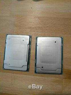 Pair Intel Xeon Bronze 3104 Cpu Core Processor 6 1.70ghz Socket 3647 Es No