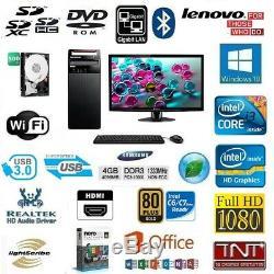 Pc Office Intel Core I3 Fast 4 X 3.50 Ghz / 4gb Ddr3 / Hdd 500gb / Intel Hd