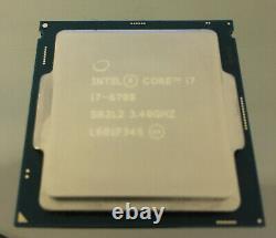 Processeur Core I7 6700 3.40ghz Socket 1151 (sr2l2) Skylake-s