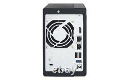 Qnap Nas Ts-251 + 2 X Quad-core Intel Celeron 2 Ghz Cores 4 GB 8 GB Ddr3l
