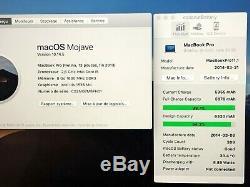 State New Macbook Retina Pro 13 Intel Core I5 2.60 Ghz Ssd 512 GB