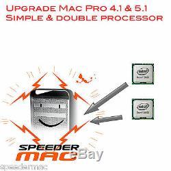 Upgrade Processor Mac Pro 4.1 Quad Core 2009 To Westmere 6 Cores 3.33 Ghz
