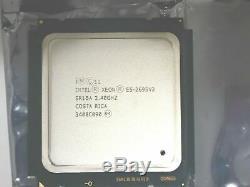 Xeon Cpu E5-2695v2 12 Core 2.4ghz 24 Threads Lga2011 Apple Macpro / Pc