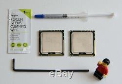 2x Intel Xeon x5690 3,46 GHZ Six Core Pour Mac Pro 5,1 (2010-2012)(Pour Paire)