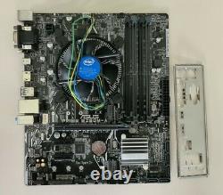 ASUS PRIME B250M-A + Intel Core i5-7500 à 3.8 Ghz