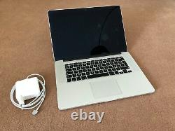 Apple MacBookPro Retina 15, Intel Core i7 2,8GHz 16Go RAM 1To SSD