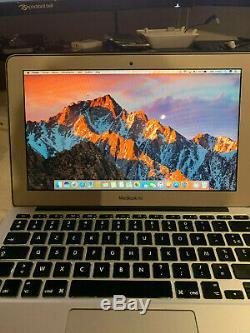 Apple MacBook Air 11.6 A1370 1.8Ghz Intel Core i7 4 Go RAM 256 Go SSD