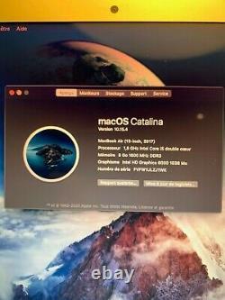 Apple MacBook Air 13,3 2017,128Go SSD, Intel Core i5, 1,8 GHz, 8Go