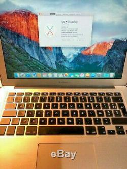 Apple MacBook Air 13 modele A1466 6.2 mi-2013, Intel Core i5 1.3ghz 4Go 128SSD