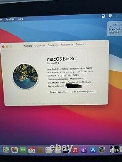 Apple MacBook Pro 13,3 (512Go SSD, Intel Core i5 5ème Génération, 2,9 GHz, 8Go)