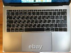 Apple MacBook Pro 13,3 A1708 Intel core i5 2.30 GHz Ram 8 Go DD 128 Go