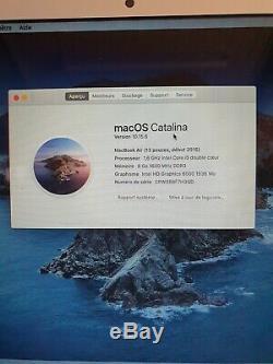 Apple MacBook Pro 13,3 (Intel Core i5 5ème Gén, 2,70GHz, 128Go SSD, 8Go RAM)