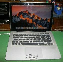Apple MacBook Pro 13 (500 Go HDD, Intel Core 2 Duo, 2,66 GHz, 4 Go). 04/2010