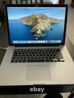 Apple MacBook Pro 15 2015 (500 Go SSD, Intel Core i7, 2,7 GHz, 16Go)