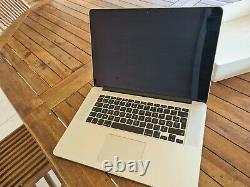Apple MacBook Pro 15,4 256 Go SSD Intel Core i7 4ème Génération 2,2 GHz, 16