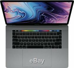 Apple MacBook Pro 15,4 512 Go SSD, Intel Core i7 8ème Génération, 2,6GHz