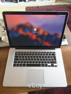 Apple MacBook Pro 15,4 (Intel Core i7-4770HQ, 2,5 GHz, 512 Go SSD, 16 Go RAM)