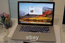 Apple MacBook Pro 15 (500Go HDD, Intel Core i7 5e génération, 2,53GHz, 16Go)
