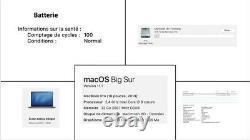 Apple MacBook Pro 16 (4To SSD, Intel Core i9, 2,40 GHz 8 coeurs, 32Go)