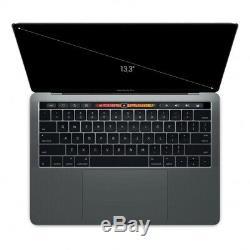 Apple MacBook Pro 2017 13 Touch Bar Intel Core i5 3,10 GHz 256 Go SSD 8 Go gris
