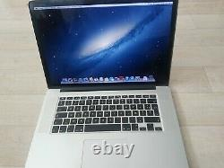 Apple MacBook Pro retina 15 Intel Core i7 2,3Ghz 8GB RAM 256GB SSD en bon état
