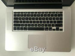 Apple Mac Book Pro MC373LL/A 15,4 Intel Core i7 2,66 Ghz 8 Go RAM 500 Go