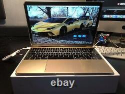 Apple Macbook Gold (Retina 12 Inch Early 2015) 1.2 GHz Intel Core M 8GB DDR3