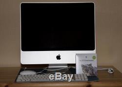 Apple iMac 20 pouces Intel Core 2 duo 2,4 gHz 1 go Mv SDRAM 800 gHz DD250 go