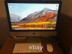 Apple iMac 21,5 (Processeur 1,4 Ghz Intel Core i5 Memoire 8Gb 1600 Mhz DDR3)