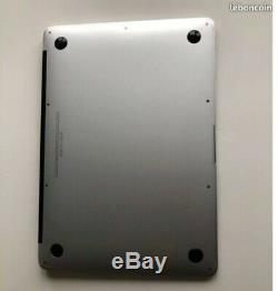 Apple macbook air debut 2015 13,3 intel core i5 1,6 Ghz 4 Go RAM 128 Go SSD