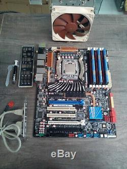 Carte Mere Asus P6t Deluxe V2 + Intel Core I7-920 @ 4 X 2,66 Ghz + 6 Go Ddr3