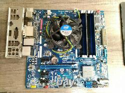 Carte Mere Intel Dh77eb + Intel Core I5-2400 @ 4 X 3,10 Ghz + 8 Go Ddr3