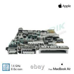 Carte mère 1,6 GHz Intel Core i5 8GB pour MacBook Air 13 A1466 (2015/2017)