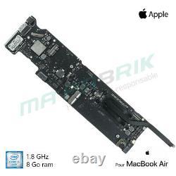 Carte mère 1,8 GHz Intel Core i5 8GB pour MacBook Air 13 A1466 (2015/2017)