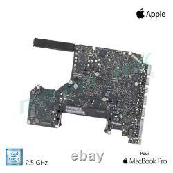 Carte mère 2,5 GHz Core i5 Intel pour MacBook Pro 13 A1278 (2012)