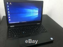 Dell Latitude E5570 Intel core i5 6440HQ 2.6GHz 8Go 1000Go HDD