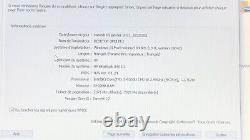 HP EliteBook 840 G3 Intel Core I5 6300U 2,40 GHz 8 Go 256 GB SSD Win 10
