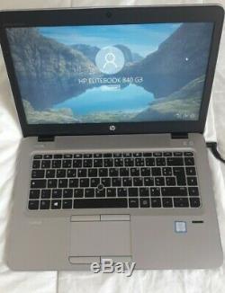 HP EliteBook 840 G3 Intel Core I5 6300U 2. 40 GHz -8 Go -512 SSD