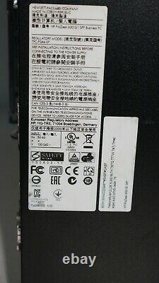 HP ProDesk 600 G1 SSF Intel Core I5-4570 3.2 Ghz 8 Go 240 SSD 2x DP Win 10 Pro