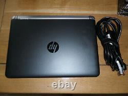 HP Probook 430 G3 8Go Ram/DD 256 pcie nvme Go Intel Core I5 6200U 2.3Ghz