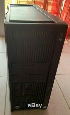 HP Workstation z840 Intel BiXeon 8-Core e5-2620v3 2,4GHz -16Go DDR4-Tesla C2075
