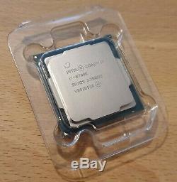 INTEL CORE I7-8700K 3.7 GHz / 4.7 GHz Processeur Processor