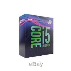 INTEL Processeur socket 1151 Core I5 9400F (6x 2.9GHz/4.10GHz) sans graphique