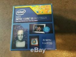 Intel Broadwell Processeur Core i5-5675C 3.1 GHz 4Mo Cache Socket 1150 Boîte