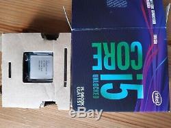 Intel Core 5 i5-9600k 3.7GHZ Processeur