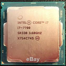 Intel Core I7 7700 LGA1151 3.6 Ghz / 4.2 Ghz sous garantie