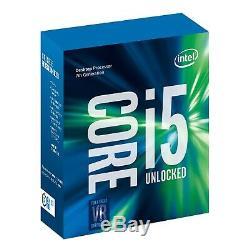 Intel Core i5 7600K 3.8 GHz QuadCore 6 Mo Sans ventirad