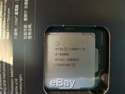 Intel Core i5-8600K 3.6GHz LGA 1151 6-Core 9M Cache Unlocked CPU SANS VENTIL